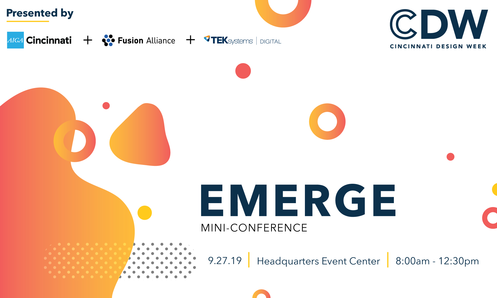 EMERGE Mini-Conference | AIGA Cincinnati